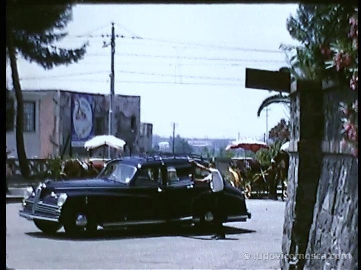 Esterno Scavi di Pompei 1955