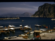 Capri diapositiva Kodachrome anni 50