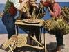 Napoli, venditori di scope