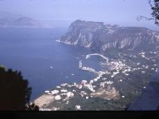 Vista da San Michele ad Anacapri 12-09-1970