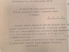 Richiesta per attribuzione nominativo R.T. al dirigibile N 4