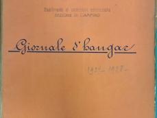 Frontespizio Giornale d'hangar 1927-1928