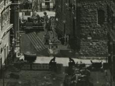 Firenze lastra fotografica XIX secolo