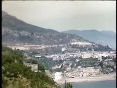 Immagine 1955 la costiera amalfitana verso Vietri sul Mare