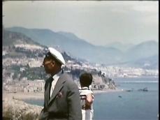 Immagine costiera amalfitana 1955