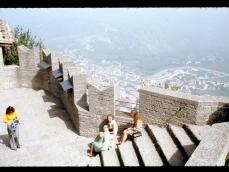1973 veduta dal castello di San Marino