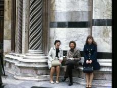 1973 Siena esterno del Duomo