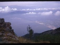 Golfo di Napoli da Faito sett 1970