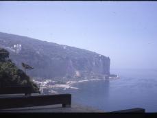 Vico Equense vista dalla camera d'albergo 09-09-1970