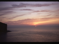Vico sunset from out window 3