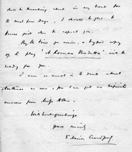 Lettera F.M. Crawford - parte 2
