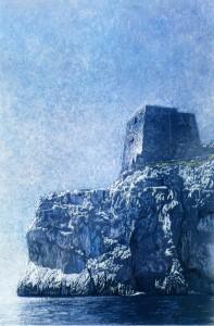 Torre Minerva, punta della campanella