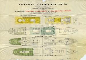 piano alloggi Dante Alighieri e Giuseppe Verdi