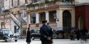 Scorcio di Piazza Tasso, Sorrento anni cinquanta.