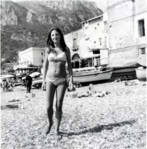 mia mamma in una foto del 1970