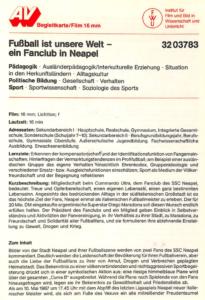 pagina libretto 16mm