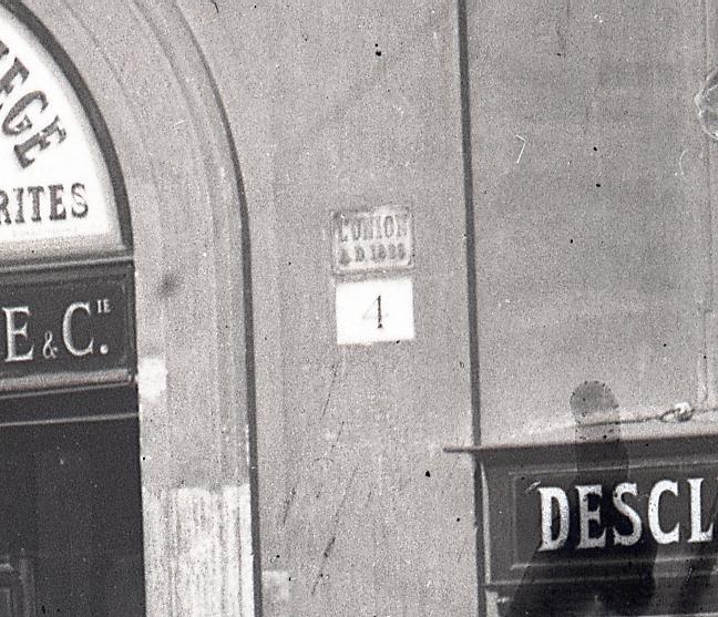 facciata palazzo doria roma piazza grazioli targa l'union a.d. 1828
